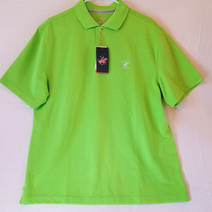 Beverly Hills Polo Club S/S (Citrus Lime) Polo